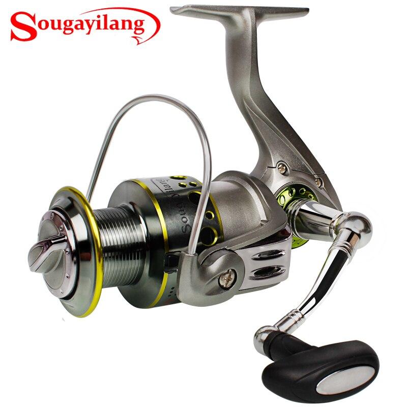 Sougayilang 2000 5000 fishing spinning reel 13 1bb feeder for Sougayilang spinning fishing reels