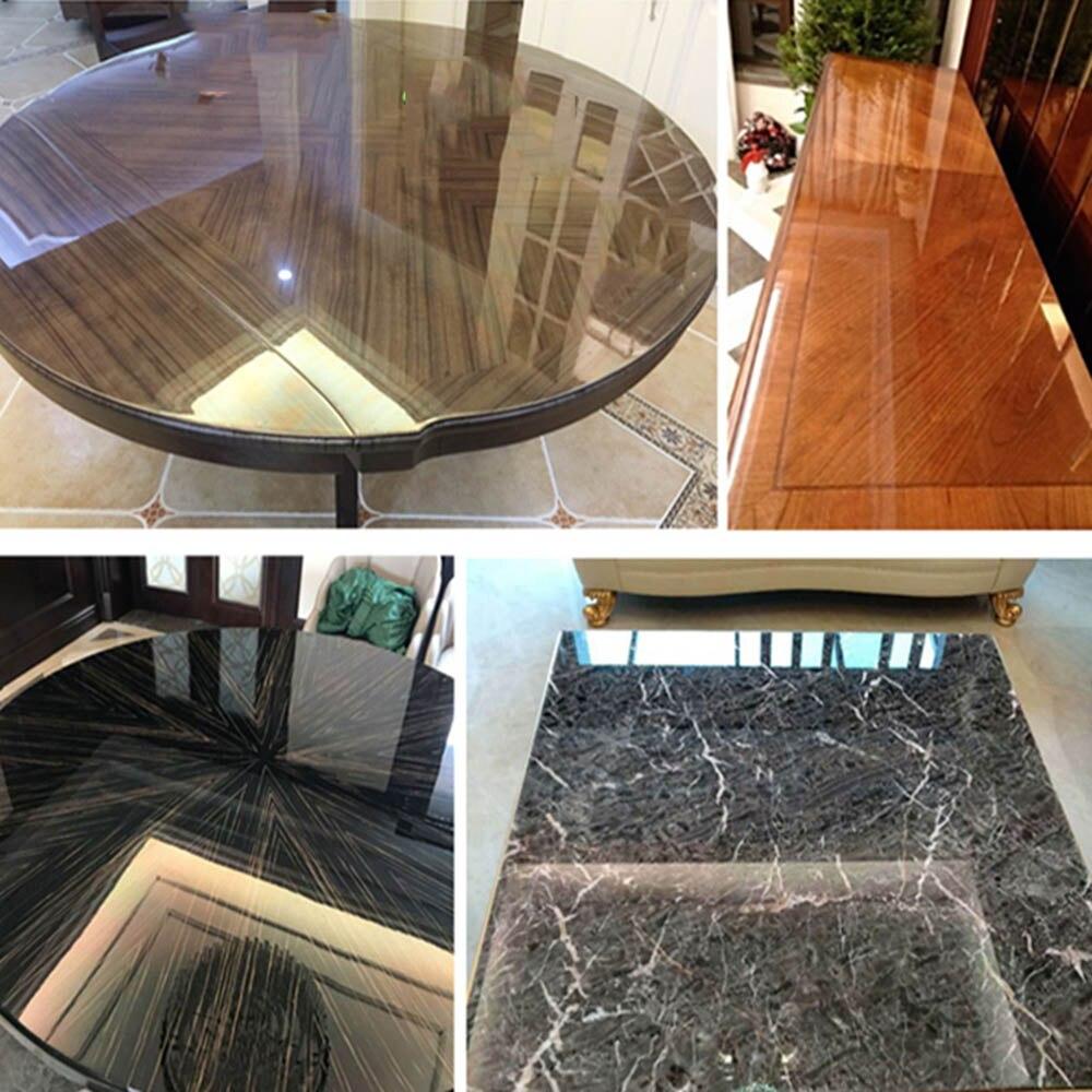 HOHOFILM 1.52x30 m rouleau 2Mil meubles Film verre meubles brillant autocollant Table fenêtre autocollants film de protection 60''x100ft