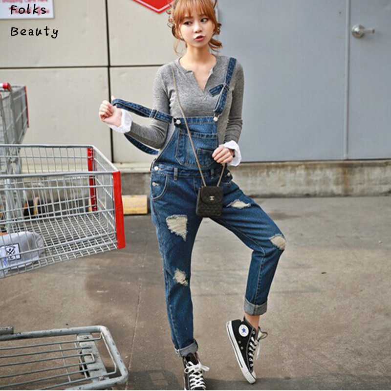 Popular Denim Overalls Plus Size for Women-Buy Cheap Denim ...
