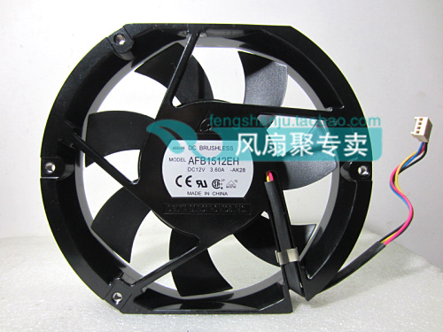 Original AFB1512EH 12V 3.60A 17cm 172*172*25MM 4 wires PWM cooling fan