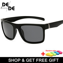 New Classic Designer Brand Yellow Anti Glare Men Night Driving Sunglasses Polarized Vision Male Glasses