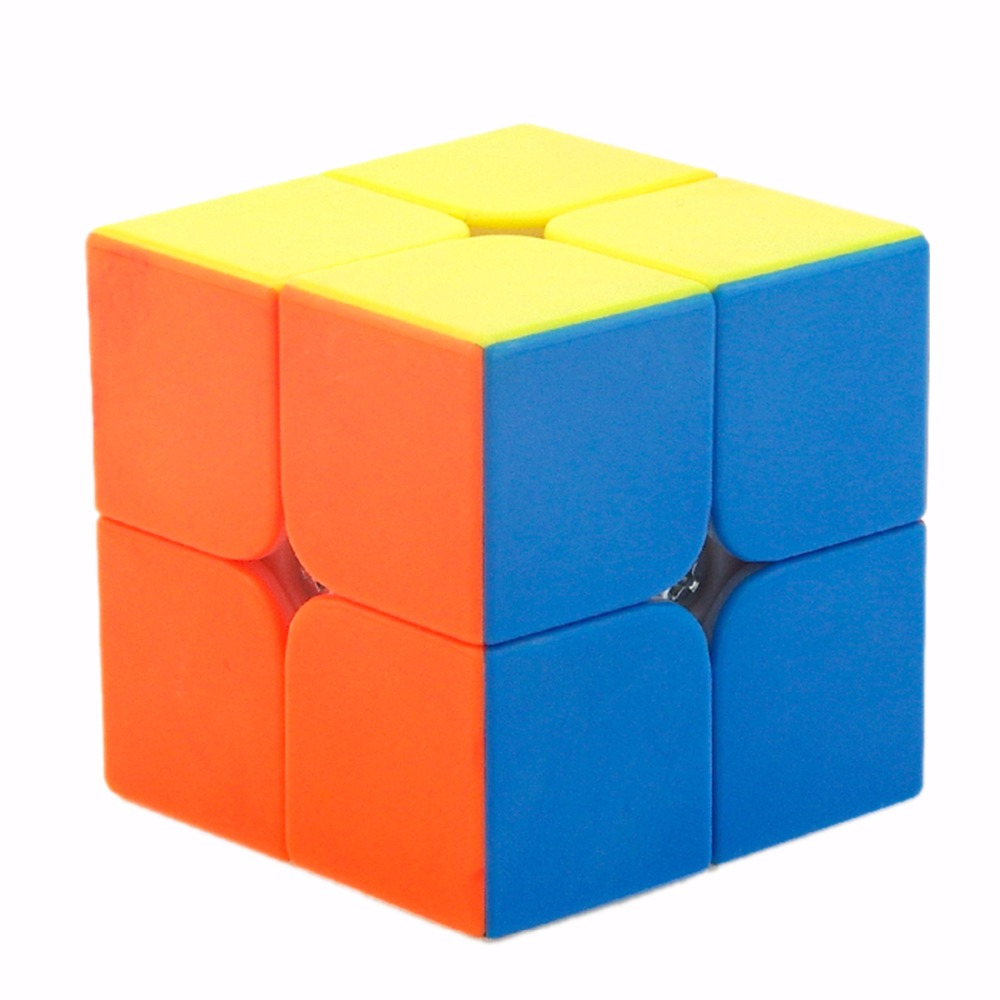 MF2s 2x2x2 Magic Cube Pocket Cube Speed Puzzle 50mm Cube Educational Toys for children cubo magico цена