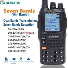 Wouxun KG UV9D בתוספת שבעה קבלת כולל FM רדיו להקת האוויר מהדר להקת צלב קלאסי מעגל
