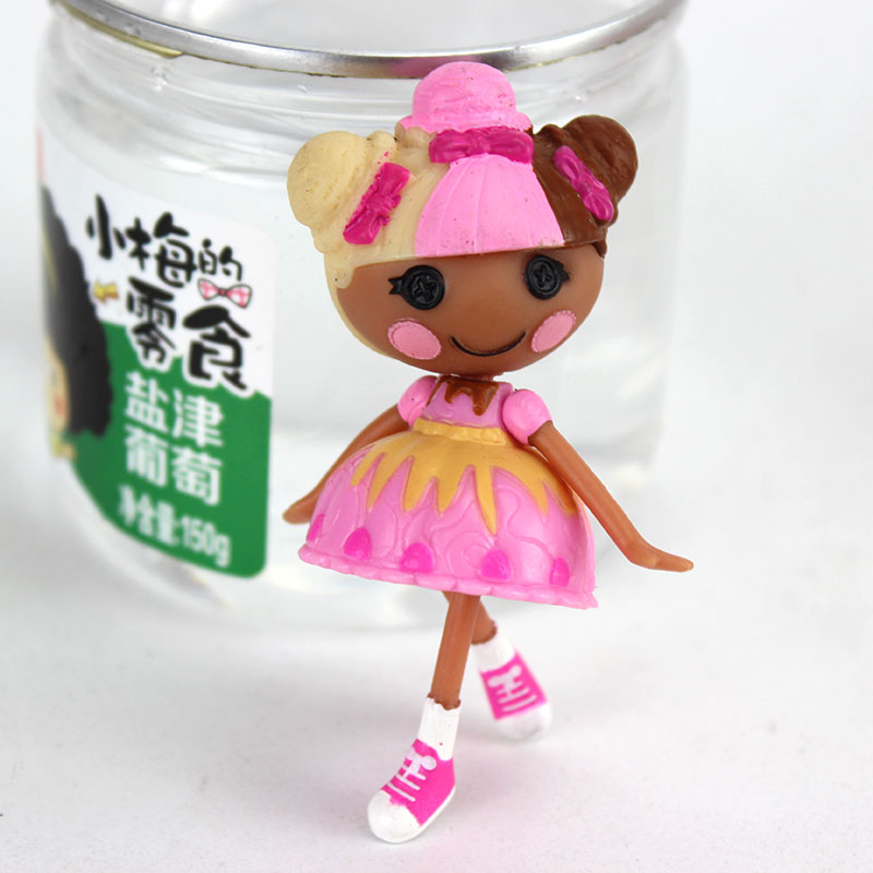 3Inch Original MGA Lalaloopsy Dolls Mini Dolls For Girl s font b Toy b font Playhouse