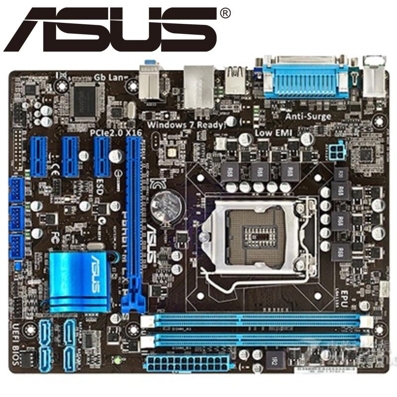 Asus P8h61 M Lx Plus Desktop Motherboard H61 Socket Lga