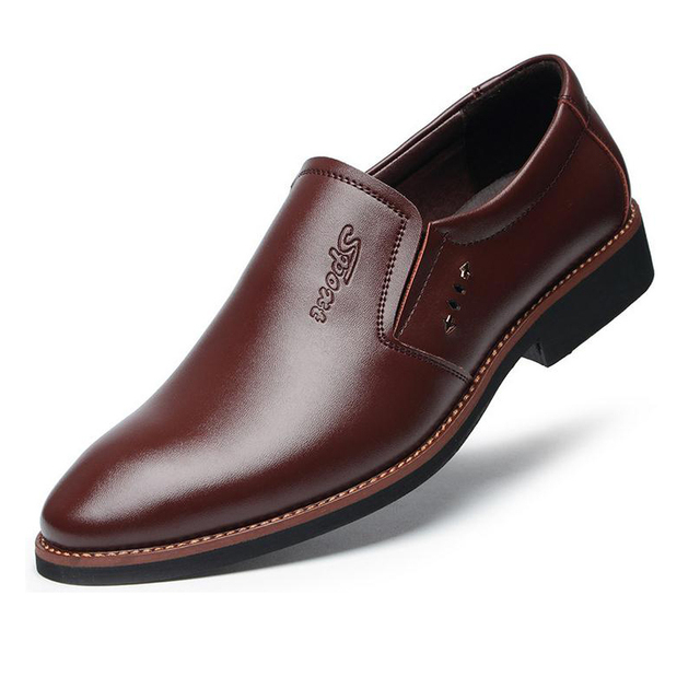 Leather Office Dress Shoes 4
