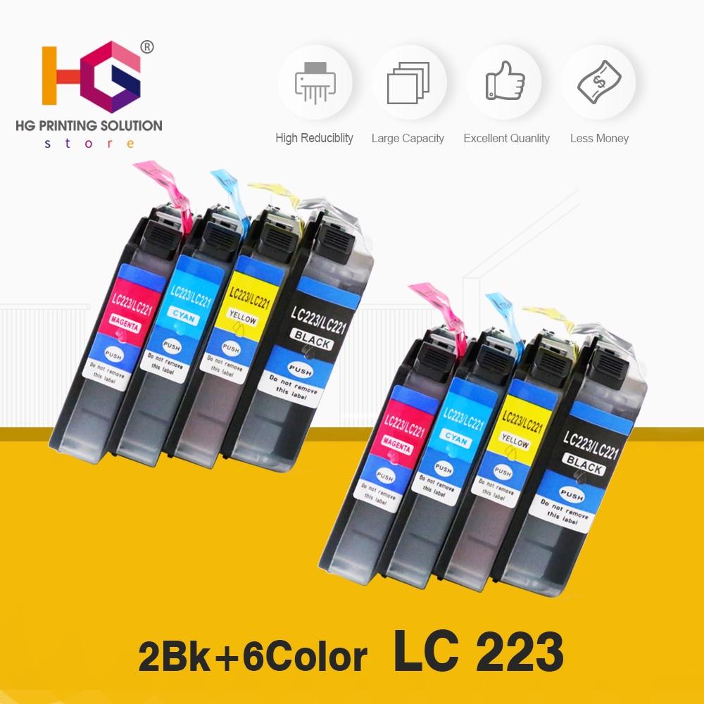 Замена для чернильных картриджей Brother LC223, совместим с планкой для смартфонов