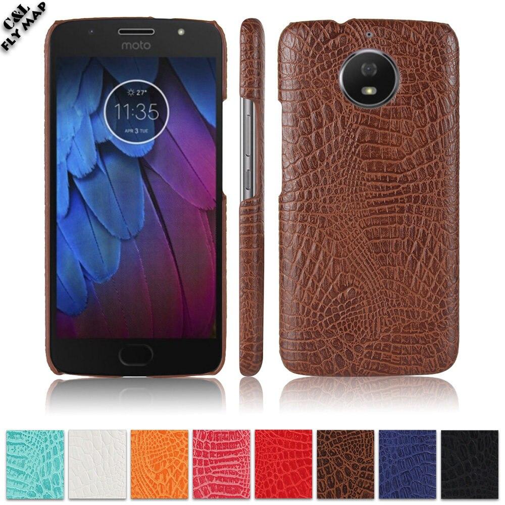 Crocodile Case For Motorola Moto G5s XT1792 XT1794 Hard PC Protective Phone Cover Shell Coque XT1793 XT1795 XT1791 G5 s Bag