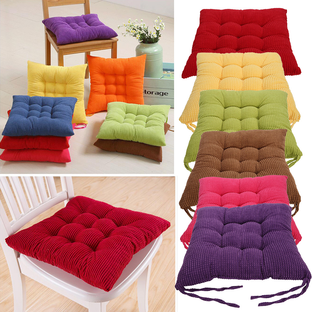 New Corn Solid Color Dining Chair Cushion Square Seat Cushion Thickening  Velvet Home Tatami Seat CushionTatami Mat Chair New-in Cushion from Home & Garden on Aliexpress.com | Alibaba Group