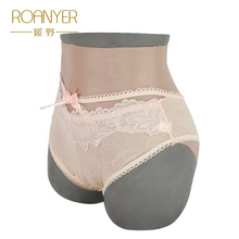 Roanyer crossdresser silicone fake vagina pants drag queen artificial latex underwear Transgender false pussy for shemale