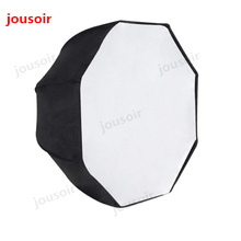 Photo Studio 95cm 37.5in Portable Octagon Flash Speedlight Speedlite Umbrella Softbox Soft Box Brolly Reflector CD50