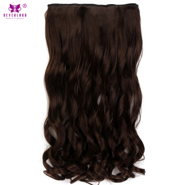 Aimei 22 Synthetic Wavy 5 Clip In Hair Extensions Heat Resistant
