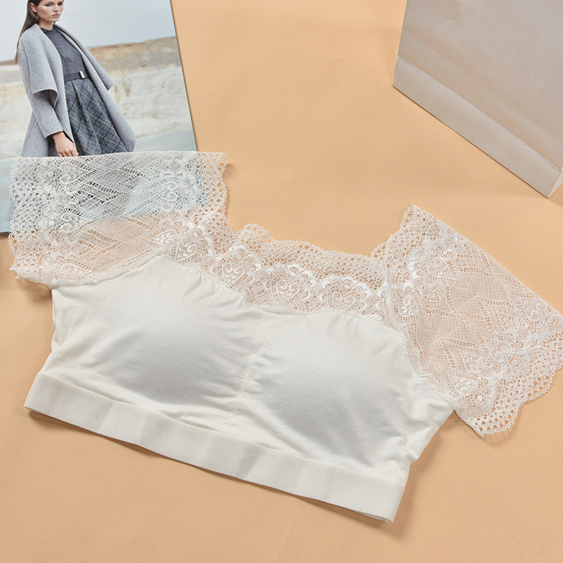 Girls Underwear Modal Training Bras For Girls Young Girl Undergarments Lace Teenage -8044