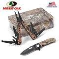 Mossy Oak 2 шт. Многофункциональный складной нож плоскогубцы карманные Наборы инструментов для кемпинга