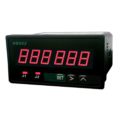 6-bit intelligent dual-set digital tachometer frequency meter speed meter HB962 upper limit alarm qm100tx1 hb 100a500v 6 element darlington frequency conversion speed control module