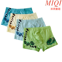 4 Pcs/lot 2017Cotton Cartoon Kids Boys Underwear Summer Soft Breathable Baby children underwear Underpants Hero underwear 4-15Y