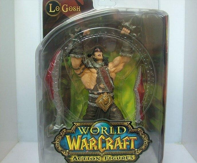 Wow Action Figure DC illimité série 5 8 polegada Alliance Hero Lo'Gosh WOW PVC modèle jouet livraison gratuite GS089
