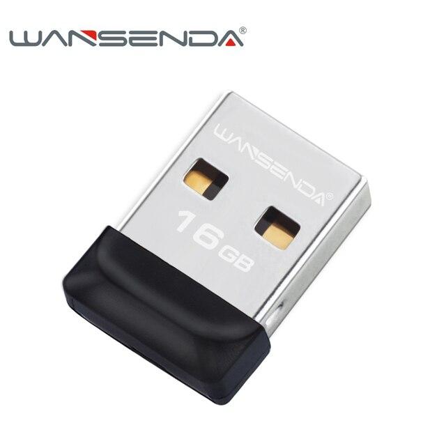 100% công suất đầy đủ Siêu nhỏ Không Thấm Nước Ổ Đĩa Flash USB 32 gb 16 gb 8 gb 4 gb Wansenda bút ổ đĩa đèn flash pendrive bộ nhớ USB stick