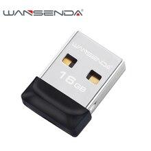 100% da capacidade total de Super pequena À Prova D' Água USB Flash Drive de 32 GB 16 GB 8 GB 4 GB Wansenda pen drive de memória flash pendrive USB vara