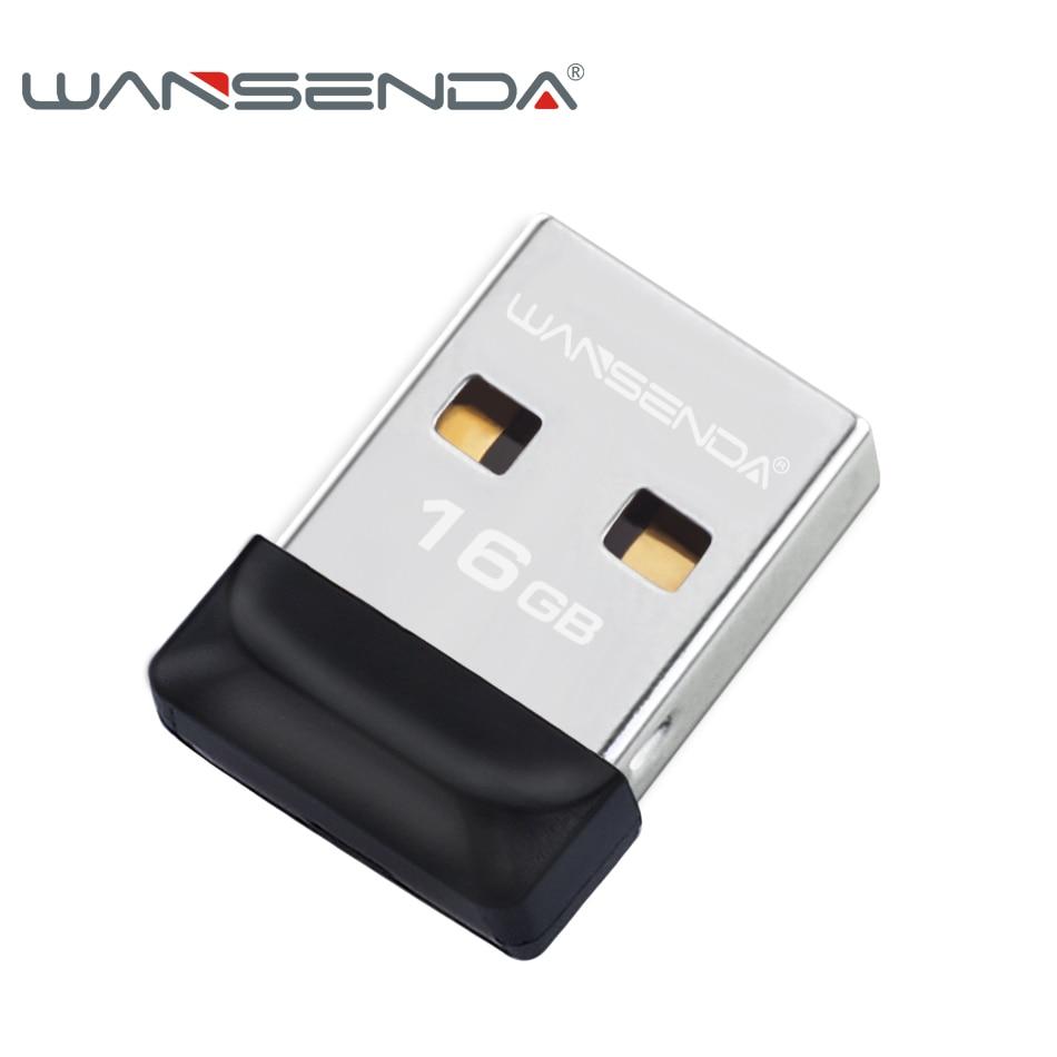 100% di piena capacità Super piccolo Impermeabile USB Flash Drive 32 gb 16 gb 8 gb 4 gb Wansenda pen drive flash di memoria pendrive USB bastone