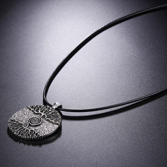 collier Viking arbre de vie  2
