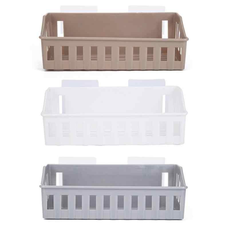 Łazienka półka kuchenna do przechowywania do montażu na ścianie wc szampon uchwyt na szampon holder na kosmetyki kosz do przechowywania narzędzi