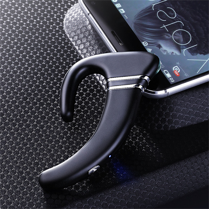 Bluetooth Headset Wireless Mini Sports Waterproof Bone Conduction Stereo Earphone HiFi Bass Headphones for Smartphones iPhone