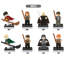 8pcs Harry Potter Hermione Lord Voldemort Malfoy action figures Blocks toys Super Heroes Star Wars Bricks Gift Compatible(China (Mainland))