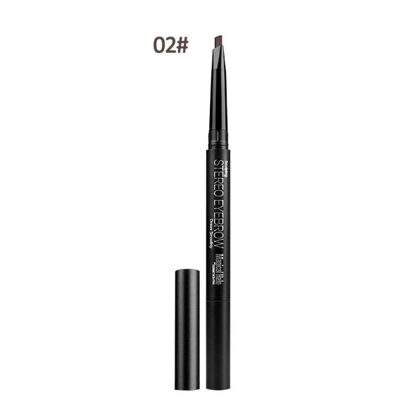 Makeup Automatic Eyebrow Pencil Waterproof With Brush Long-lasting Cosmetics Eyebrow Pen