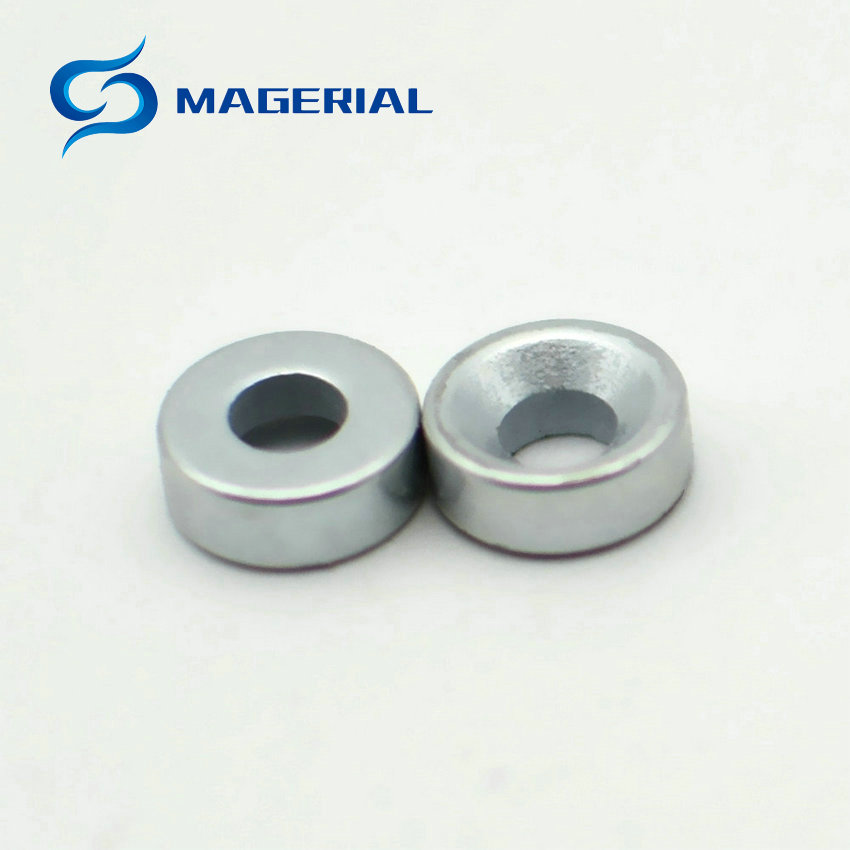 100-1000pcs NdFeB Disc Magnet Diameter 8x3 mm thick M2 Screw Countersunk Hole Holding Neodymium Rare Earth Permanent Magnet 2pcs mounting magnetic disc diameter 88 mm led light holding spotlight holder male thread ndfeb magnet strong neodymium magnet
