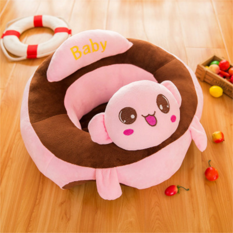Portable Baby Chair Sofa Support Seat Plush Toy Kid Learning To Sit Chair Infant Cushion Pad Mat Support Seat Safety Child Care