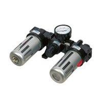 3/8'' BC3000 3 In 1 Pneumatic Air Filter Regulator Lubricator With Pressure Gauge