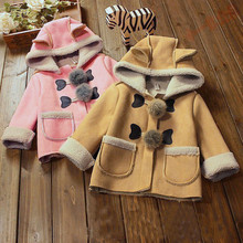 CHAMSGEND Baby Boy Grils Coat 2017 Autumn Winter Cotton Children Clothing Coat Cloak Jacket Thick Warm Clothes Sep16 Drop Ship