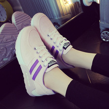 TOP ladies boot Air cushion sneakers feminine platform  platform sneakers breathable pupil leisure shoe forrest gump insole