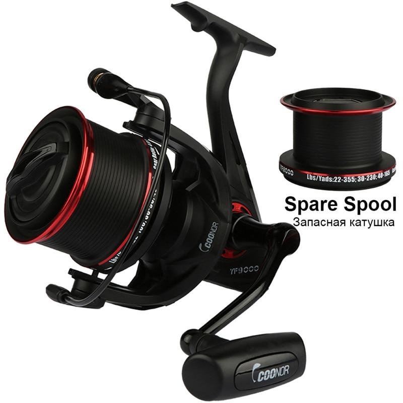 Fishing Reel Yf9000 yf8000 Spool Spinning Reel 13bb Ball Bearings 4 6 1 Baitcasting Carretilha Long