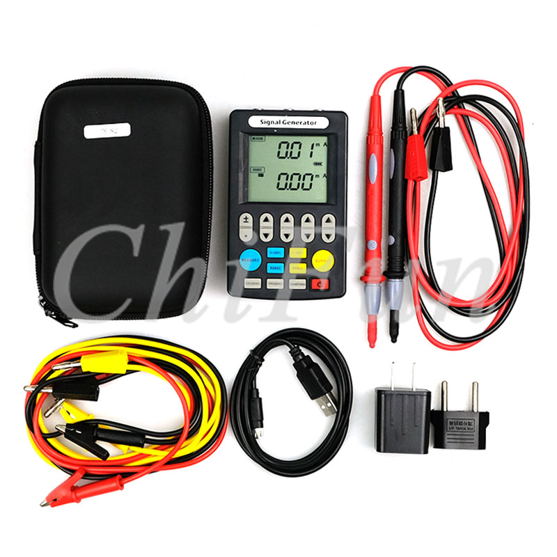 Updated version Signal Generator 4 20mA Signal Source 24V Current Voltage Thermocouple Handheld with PT100 thermal