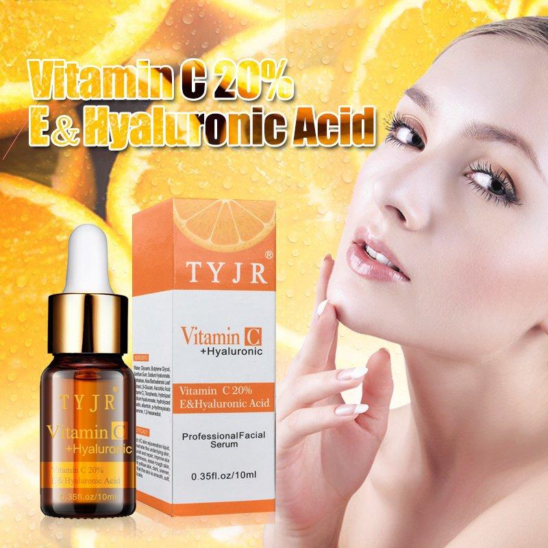 ויטמין C VC להסיר כתמים כהים שמן אתרים נמש רבב לדעוך יופי מהות הלבנת טיפוח עור פנים נגד שבלולים חסר גיל