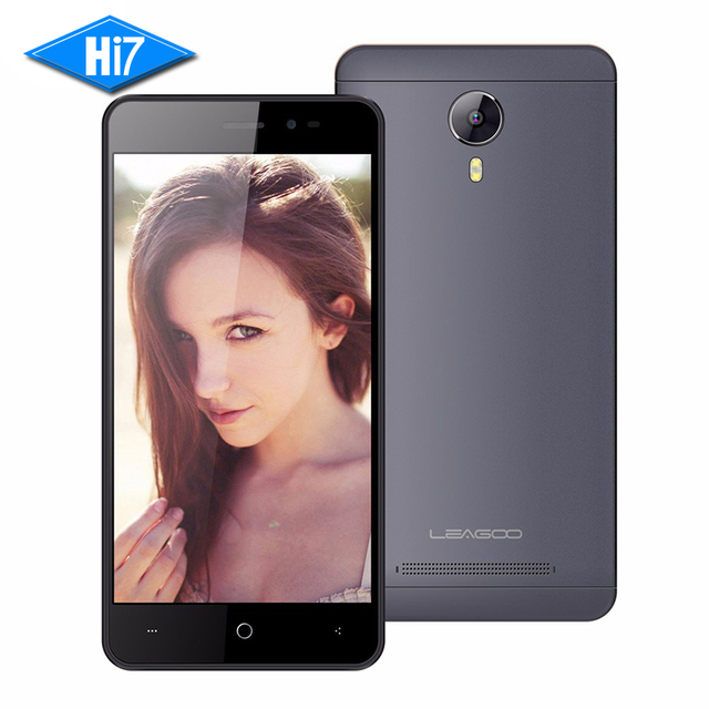 NEW Original Leagoo Z5 Lte Mobile Phone 5.0inch 1GB+8GB Android 5.1 MTK6735 Quad Core BT 4.1 GPS 854 x 480 4G Smartphone 2300mAh