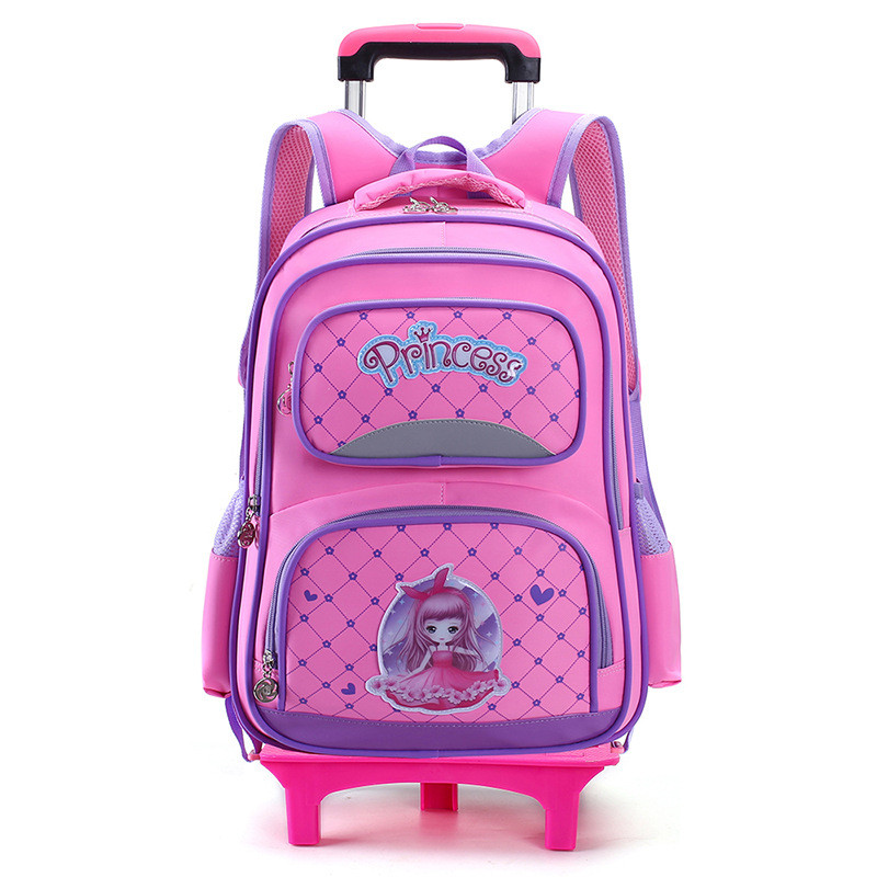 Removable Children School Bags with 2/3 Wheels for Boys Girls Trolley Backpack Kids Wheeled Bag Backpack travel luggage Mochila kids 2 6 wheels removable trolley backpack wheeled bags school bag for boys girls travel bags child school backpack mochila