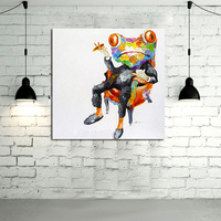 Oil Painting On Canvas Wall Oil Paintings For Living Room Wall Art Canvas Pop Art Frog