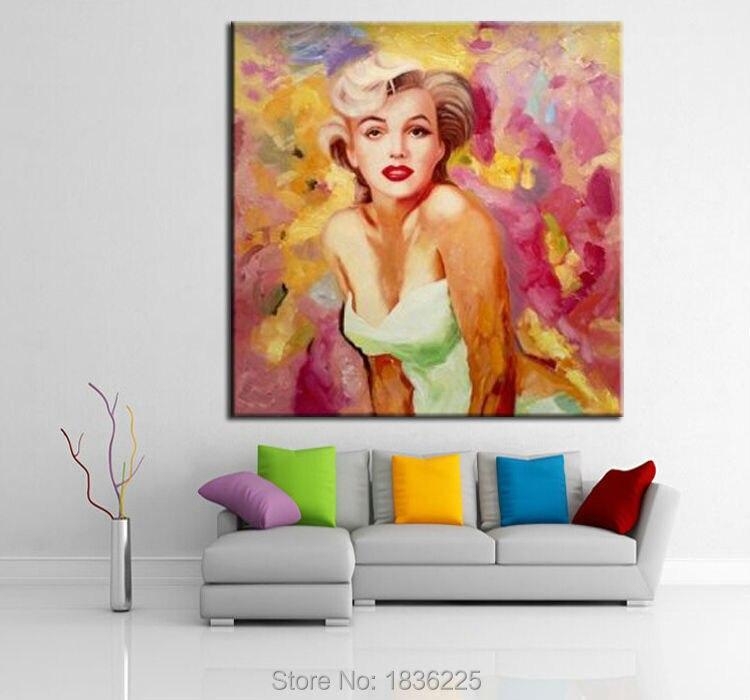 Gemälde kunst bild sex frauen bilder Ölgemälde marilyn monroe ...