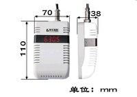 Светодио дный цифровой дисплей трубки RS485 двуокись углерода датчик CO2 передатчик displayer KD58B70/Нет индикации (KM58B70) ЖК дисплей датчиков