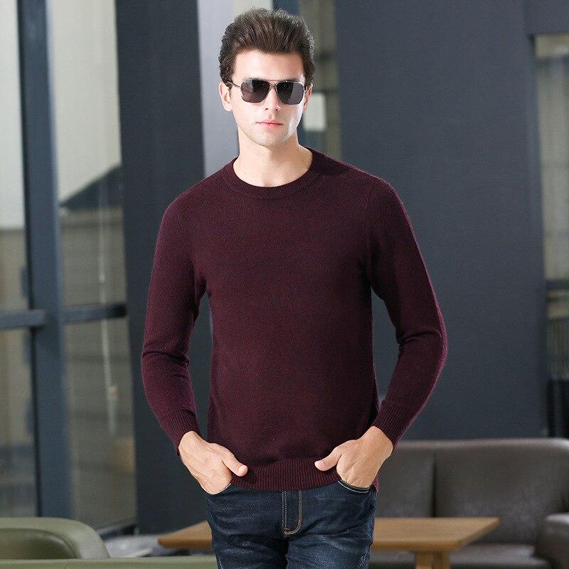 Fashion Warm Sweater Men Treasure 2019 New Manufacturers Selling More High-grade Imitation Wool Sweater To Keep Warm