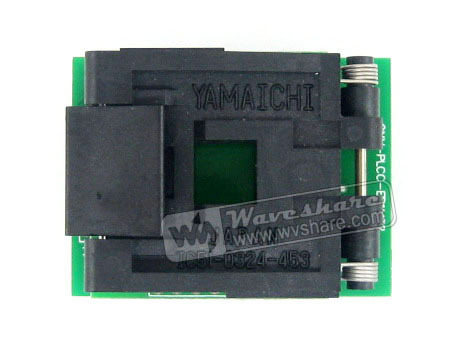 module 1.27mm Pitch PLCC32 TO DIP32 (B) Yamaichi IC Programming Socket Adapter for PLCC32 + Free Shipping sop8 to dip8 programming adapter socket module black green 150mil