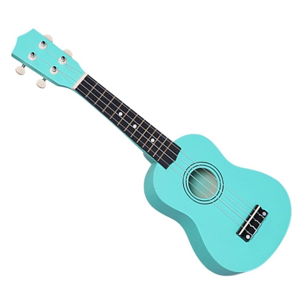 Professional 21 Inch Small Acoustic Soprano Ukulele 21 Inch Colorful Basswood Ukulele For Novice Guitar Learner Low Price New Ye