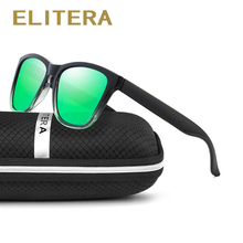 ELITERA Sunglasses Women Polarized Square Ladies Sun Glasses Female Sunglasses Oculos De Sol Feminino Shades With Case UV400