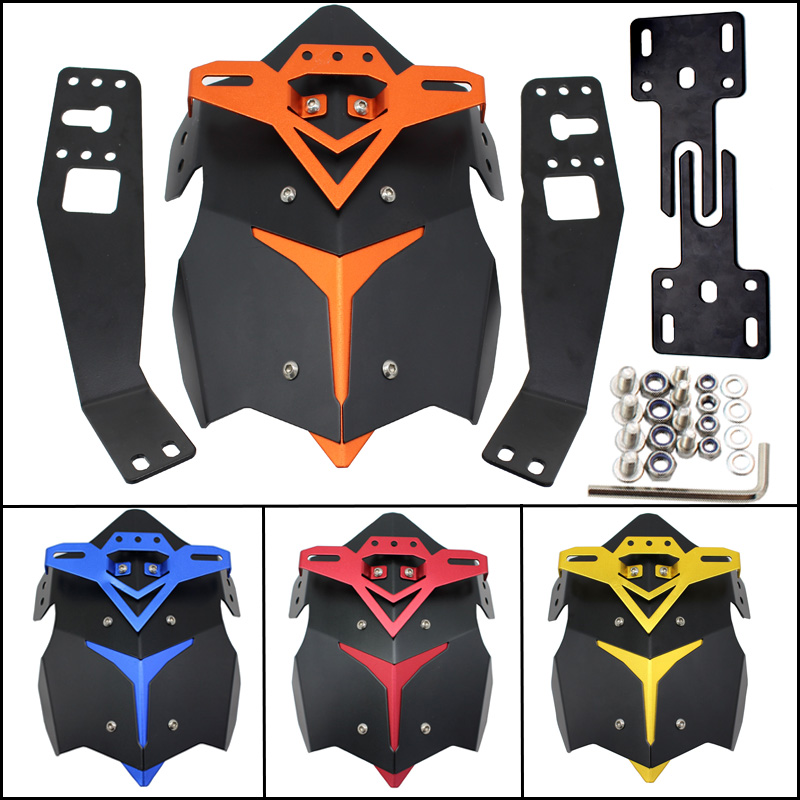 Accessoires motos pour HONDA MSX125 M3 support de plaque d'immatriculation moto singe support de plaque d'immatriculation en aluminium modifié