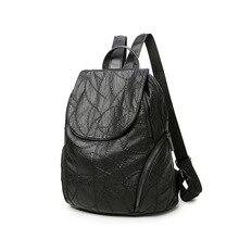 2017 натуральная кожа женские Рюкзаки Bolsas Mochila Feminina повседневные сумки женские сумки на ремне школьная сумка для девочек-подростков C221