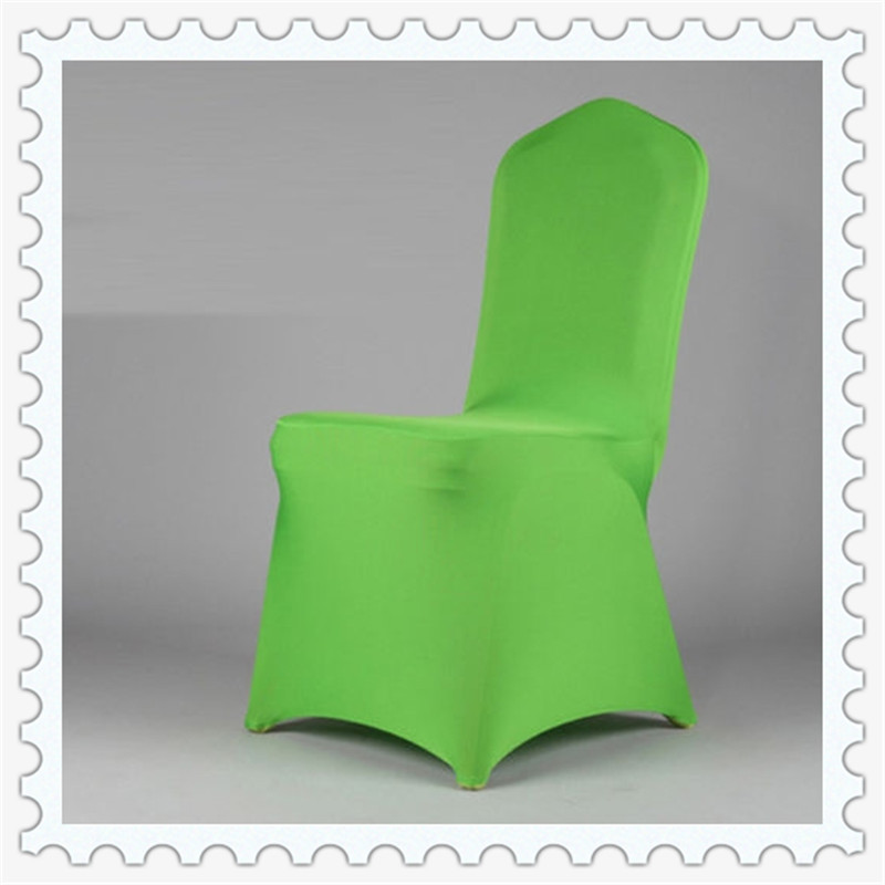 green banquet chair covers large bean bag chairs for adults lycra wedding easy to use apple spandex