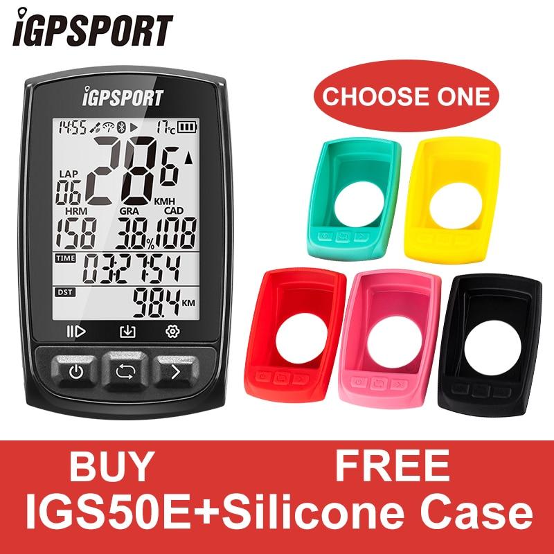 IGPSPORT GPS велосипедный Спортный Компьютер Водонепроницаемый IPX7 ANT + Беспроводной спидометр велосипедный цифровой секундомер Велоспортный Сп...